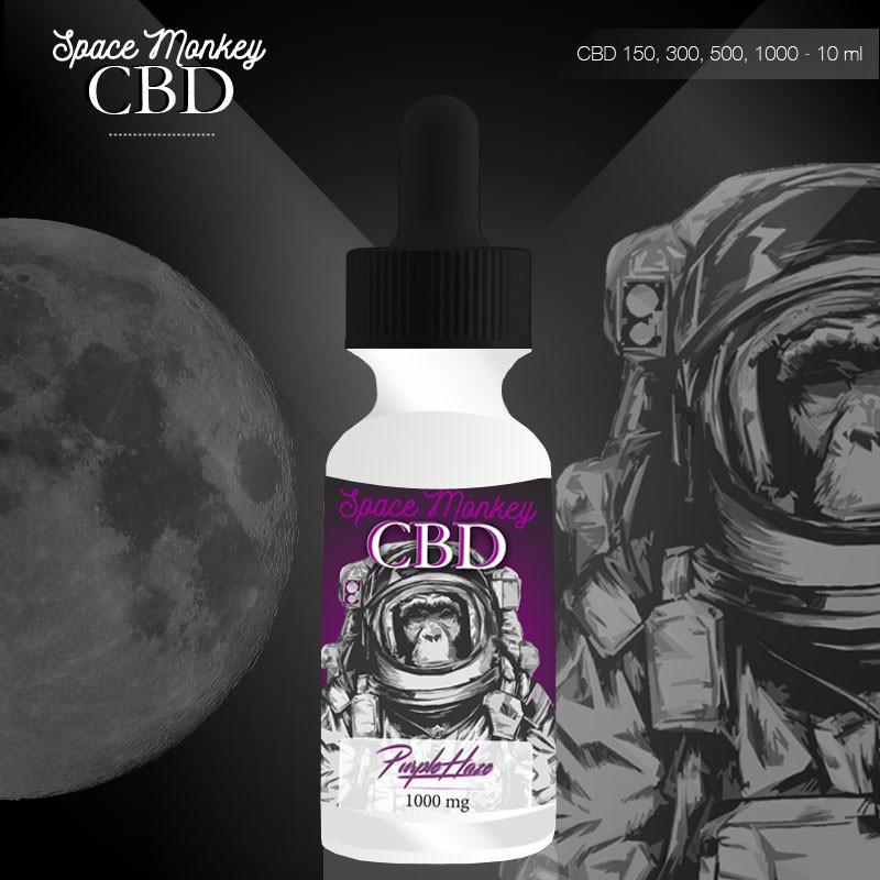 Space Monkey Purple Haze